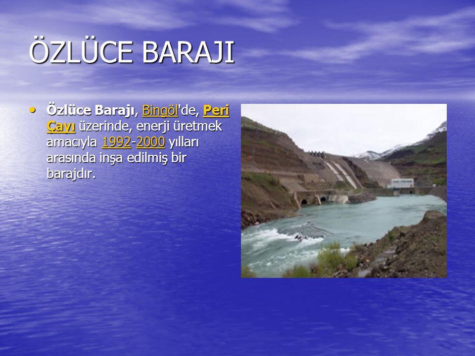 KEBAN BARAJI Keban Barajı, Elazığ ının Keban ilçesinde, Fırat Nehri üzerinde, 1965-1975 yılları arasında inşa edilmiş olan elektrik enerjisi üretimi amaçlı barajdır Keban Barajı, Elazığ ının Keban ilçesinde, Fırat Nehri üzerinde, 1965-1975 yılları arasında inşa edilmiş olan elektrik enerjisi üretimi amaçlı barajdır KebanFırat Nehri19651975 KebanFırat Nehri19651975