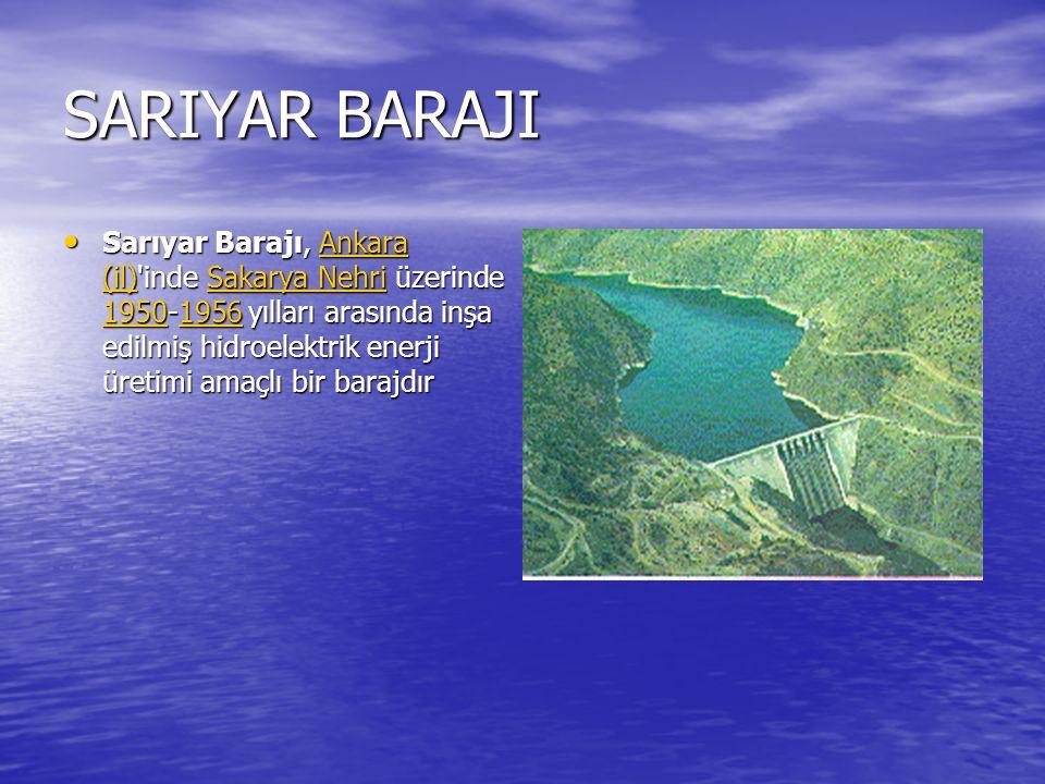 HİRFANLI BARAJI Hirfanlı Barajı, Kırşehir (il) inde, Kırşehir ile Şereflikoçhisar arasında, Kızılırmak üzerinde 1953-1959 yılları arasında inşa edilmiş kurulmuş olan, enerji üretimi ve taşkın kontrolü amaçlı bir barajdır.