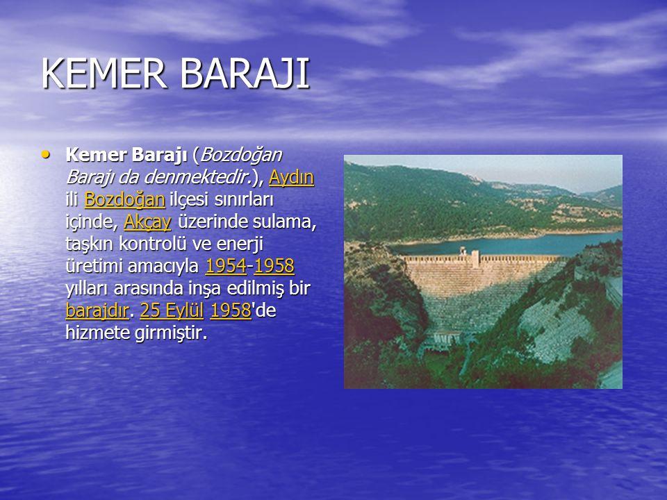 DEMİR KÖPRÜ BARAJI Demir köprü Barajı, Manisa (il) inde, Gediz Nehri üzerinde, sulama, taşkın kontrolü ve enerji üretimi amacıyla 1954 - 1960 yılları arasında inşa edilmiş bir barajdır Demir köprü Barajı, Manisa (il) inde, Gediz Nehri üzerinde, sulama, taşkın kontrolü ve enerji üretimi amacıyla 1954 - 1960 yılları arasında inşa edilmiş bir barajdırManisa (il)Gediz NehriManisa (il)Gediz Nehri