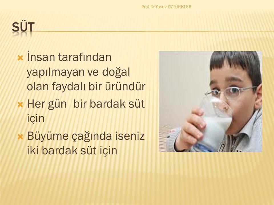 İneğimiz hasta ise ve ilaç yapıldıysa bir hafta sütünü içmeyelim Prof.Dr.Yavuz ÖZTÜRKLER