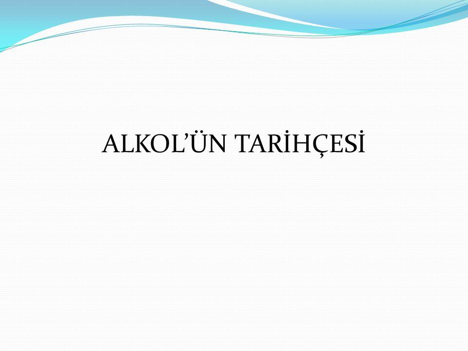 ALKOL'ÜN TARİHÇESİ