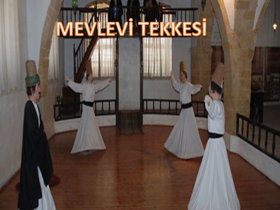 MEVLEVİ TEKKESİ Lefkoşa Surları'nın Girne Kapısı'nın güneyinde bulunan Mevlevi Tekke, Kıbrıs'ın en önemli tarihi ve mimari yapıları arasında yer almak