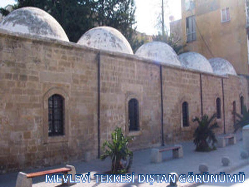 Mevleviliğin Anadolu'daki merkezi Konya, Suriye'de Halep ve Kıbrıs'ta ise Lefkoşa Mevlevi Tekke idi. Tekkenin şeyhi Konya'ya bağlı olarak görev yapark