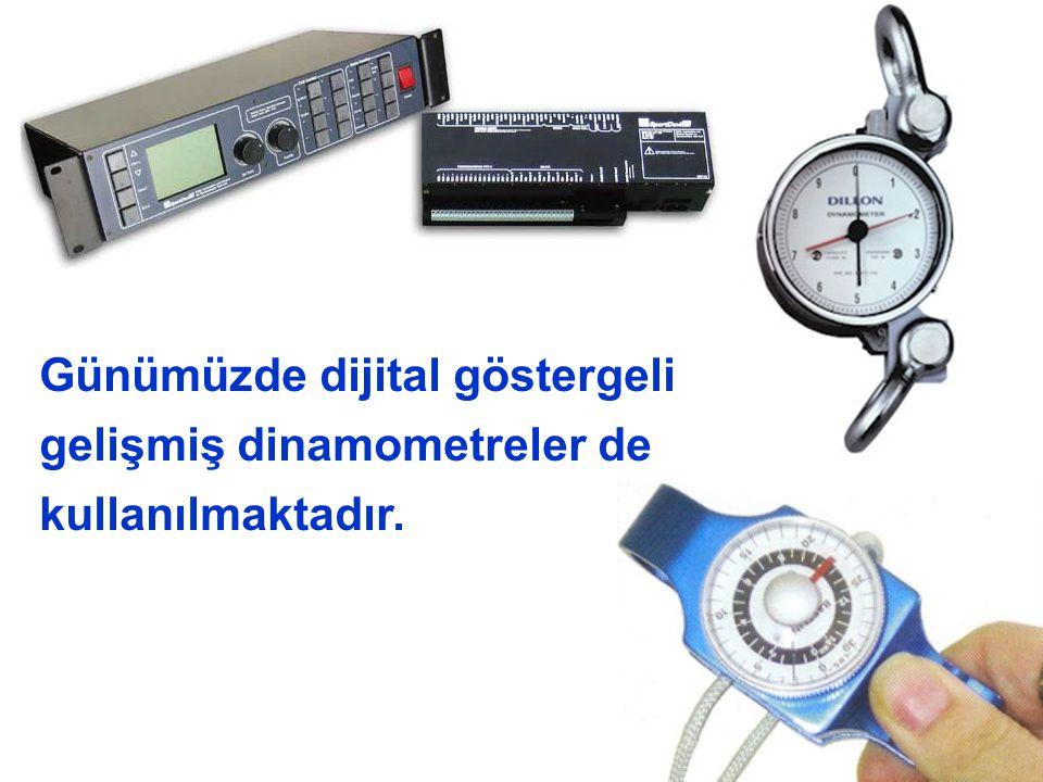 17 Günümüzde dijital göstergeli gelişmiş dinamometreler de kullanılmaktadır.