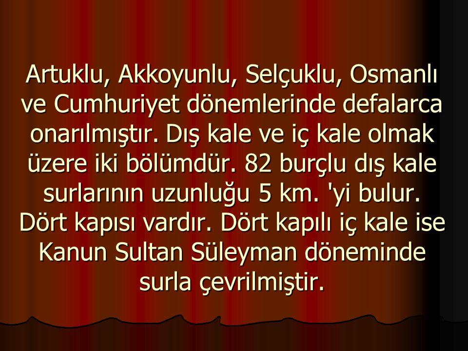 Diyarbakır Kalesi'nin hangi tarihte yapıldığı kesinlik kazanamamıştır.