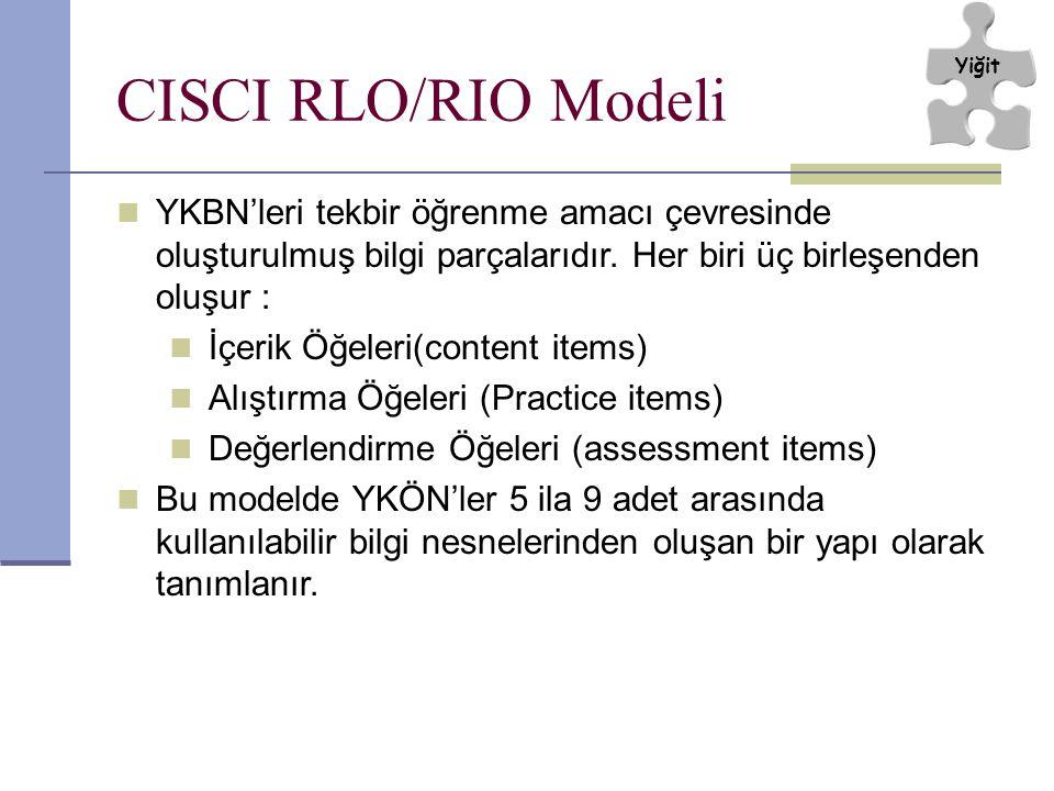 YKBN'leri tekbir öğrenme amacı çevresinde oluşturulmuş bilgi parçalarıdır.