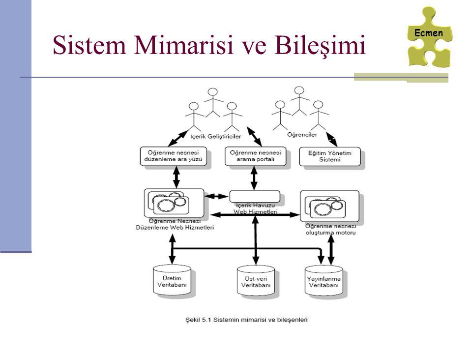 Sistem Mimarisi ve Bileşimi Ecmen