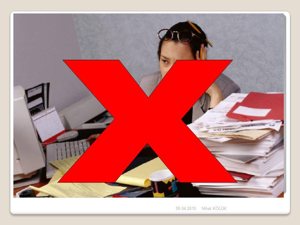 09.04.2015Nihat KÖLÜK 4 - KALİTE YÖNETİM SİSTEMİ ISO 9001:2008, Madde 4.2'de, dokümanların herhangi bir form yada ortamda olabileceği belirtilmektedir