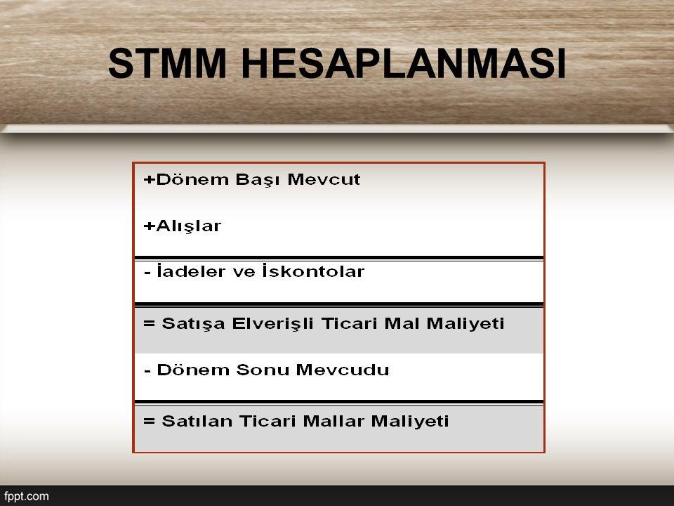 STMM HESAPLANMASI