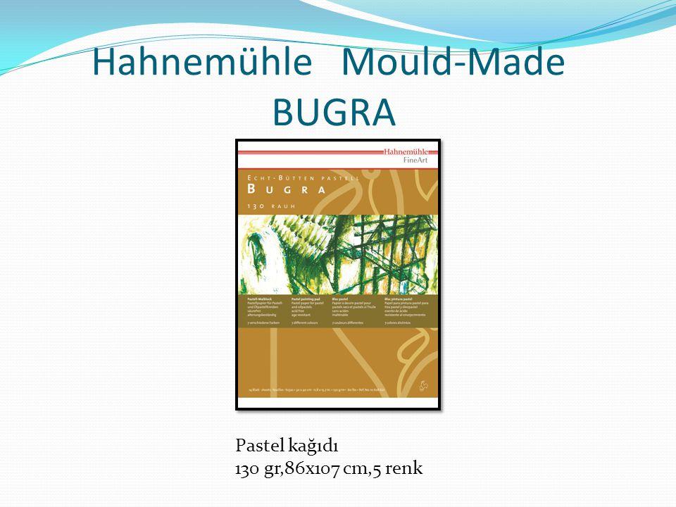 Hahnemühle Mould-Made BUGRA Pastel kağıdı 130 gr,86x107 cm,5 renk
