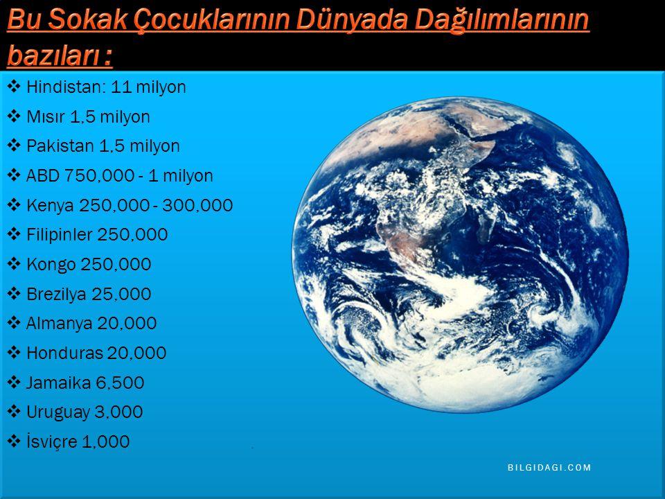  Hindistan: 11 milyon  Mısır 1,5 milyon  Pakistan 1,5 milyon  ABD 750,000 - 1 milyon  Kenya 250,000 - 300,000  Filipinler 250,000  Kongo 250,000  Brezilya 25,000  Almanya 20,000  Honduras 20,000  Jamaika 6,500  Uruguay 3,000  İsviçre 1,000  Hindistan: 11 milyon  Mısır 1,5 milyon  Pakistan 1,5 milyon  ABD 750,000 - 1 milyon  Kenya 250,000 - 300,000  Filipinler 250,000  Kongo 250,000  Brezilya 25,000  Almanya 20,000  Honduras 20,000  Jamaika 6,500  Uruguay 3,000  İsviçre 1,000 BILGIDAGI.COM