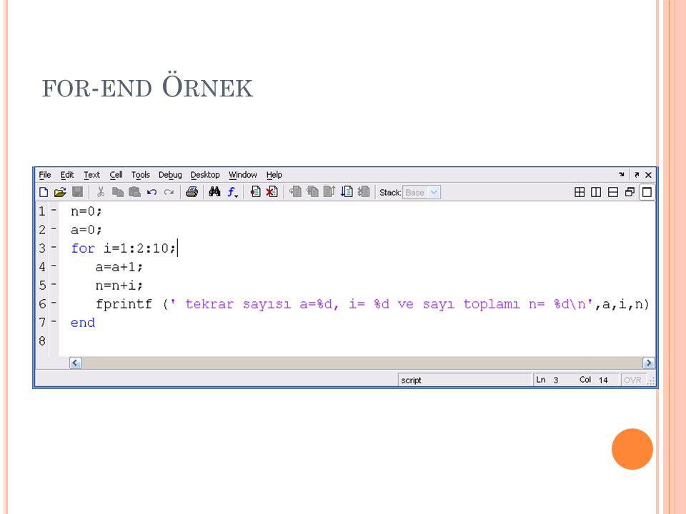 Ö RNEK 1 1-100 arasındaki sayıları toplayan program yazınız.