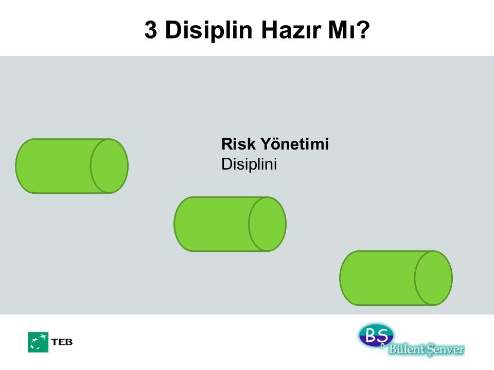 3 Disiplin Hazır Mı? Risk Yönetimi Disiplini