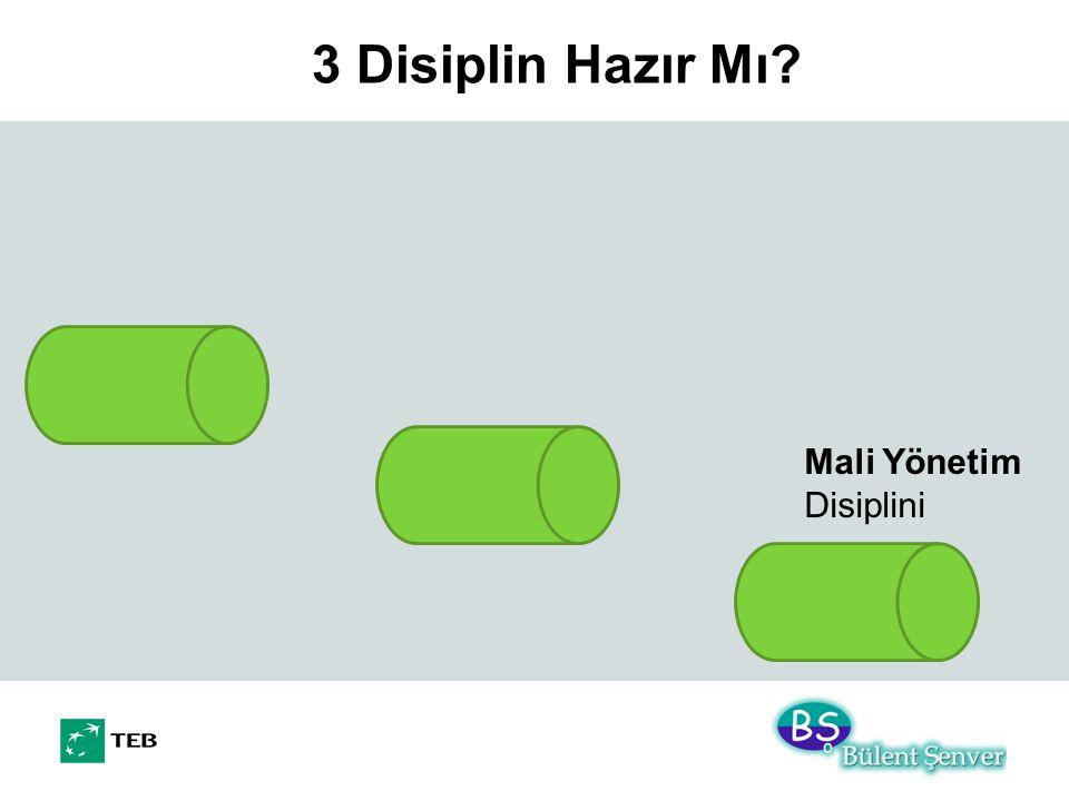 3 Disiplin Hazır Mı? Mali Yönetim Disiplini
