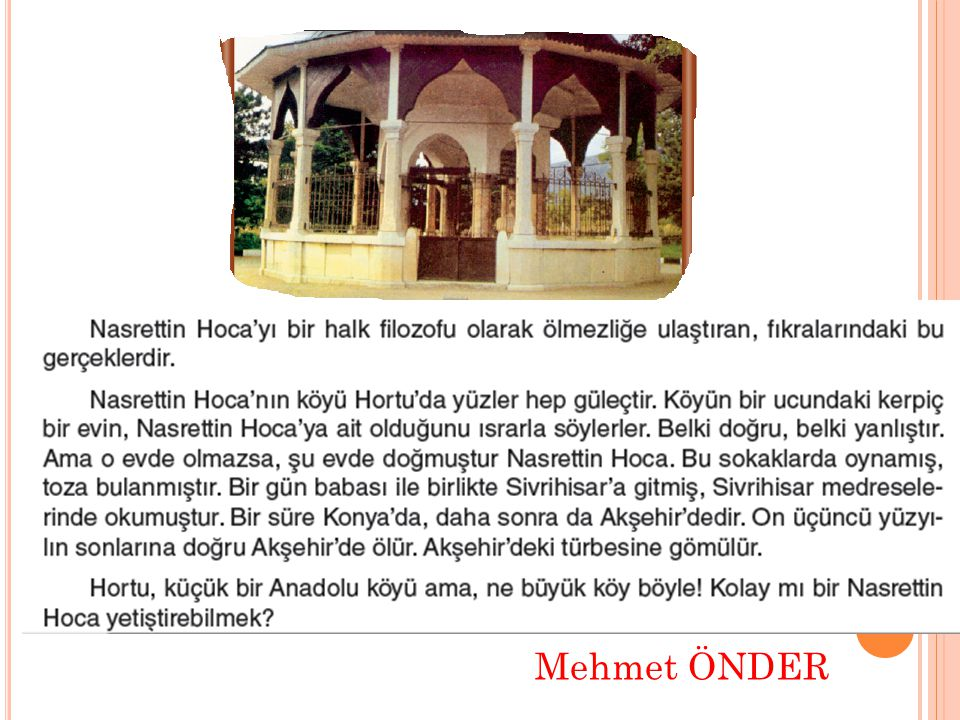 Mehmet ÖNDER