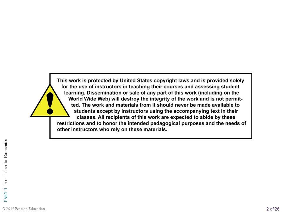 3 of 26 PART I Introduction to Economics © 2012 Pearson Education 4 Talep ve Arz Uygulamaları BÖLÜM İÇERİĞİ Fiyat Sistemi: Tayınlama ve Kaynakların Tahsisi Fiyat Tayınlaması Piyasa Kısıtları ve Alternatif Tayınlama Mekanizmaları Fiyatlar ve Kaynakların Tahsisi Taban Fiyat Arz, Talep ve Piyasa Etkinliği Tüketici Fazlası Üretici Fazlası Rekabetçi Piyasaların Üretici ve Tüketici Fazlalarını En Üst Düzeye Çıkarması Eksik Üretim veya Fazla Üretimden Kaynaklanan Dara Kaybının Potansiyel Sonuçları İleriye Bakış