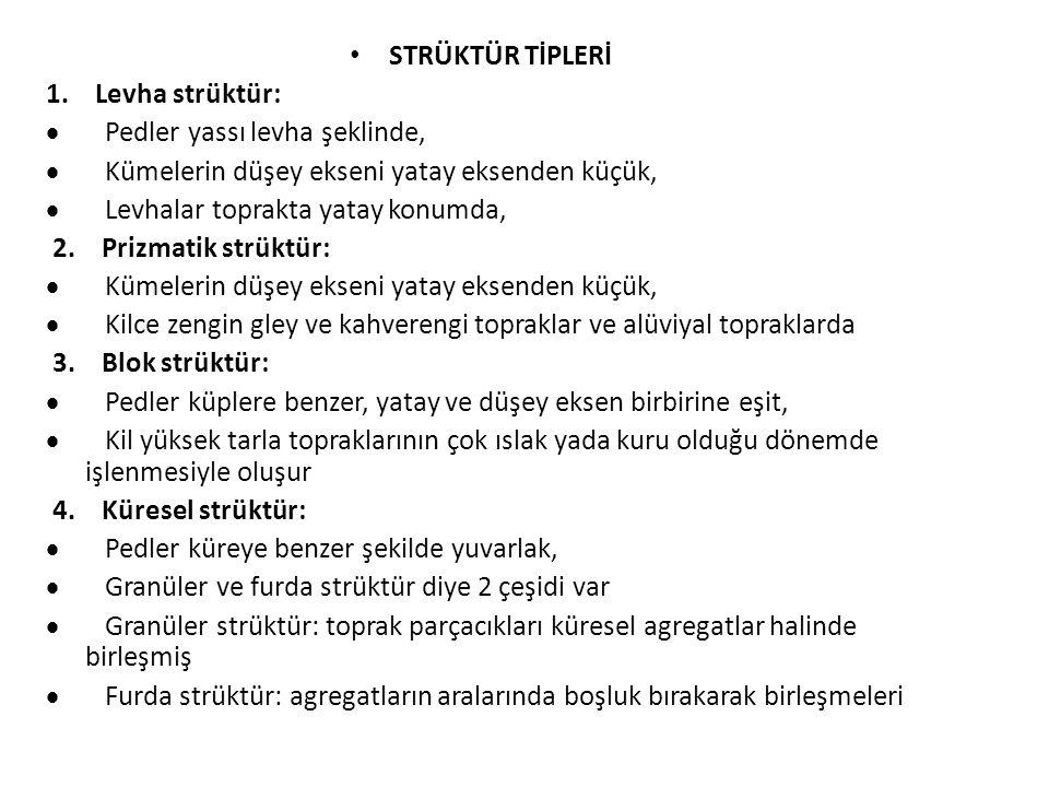 STRÜKTÜR TİPLERİ 1.
