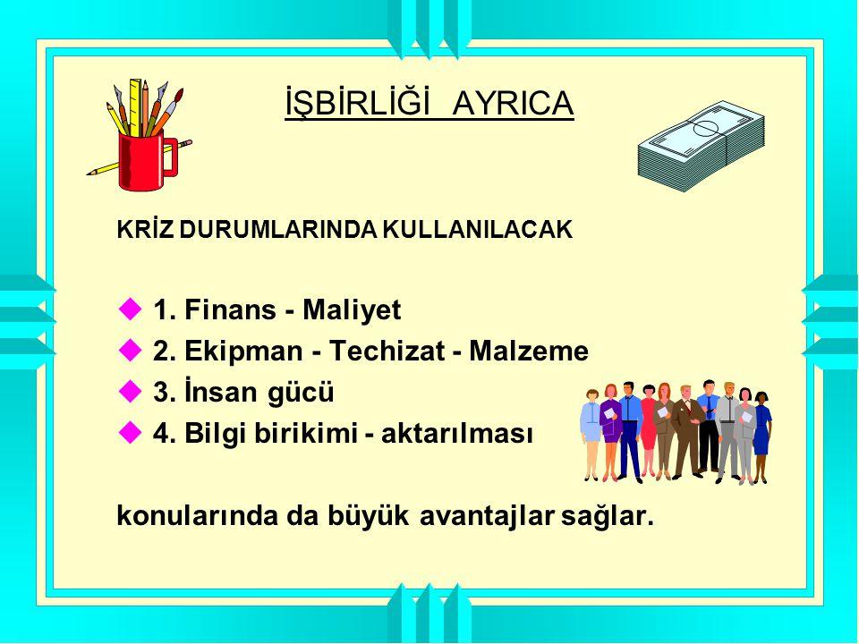 EMNİYETLİ BİR İŞ ORTAMININ YARATILMASI VE KAZALARIN ÖNLENMESİNDE  SİZ..
