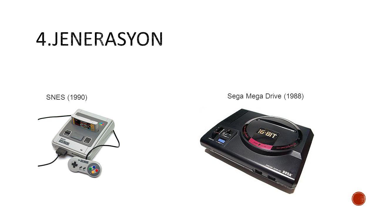 Sega Mega Drive (1988) SNES (1990)