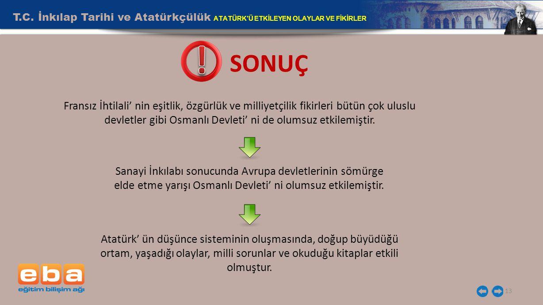 13 SONUÇ T.C.