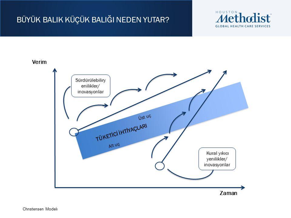 Verim Sürdürülebiliry enilikler/ inovasyonlar Sürdürülebiliry enilikler/ inovasyonlar Kural yıkıcı yenilikler/ inovasyonlar Kural yıkıcı yenilikler/ inovasyonlar TÜKETİCİ İHTİYAÇLARI Üst uç Alt uç BÜYÜK BALIK KÜÇÜK BALIĞI NEDEN YUTAR.