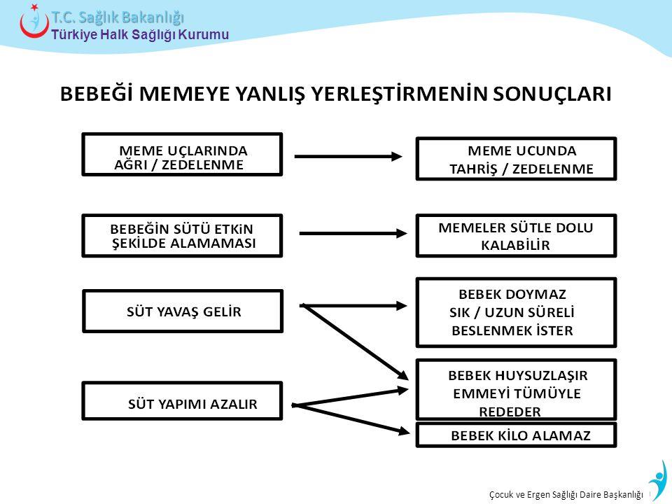 İstatistik ve Bilgi İşlem Daire Başkanlığı Türkiye Halk Sağlığı Kurumu T.C. Sağlık Bakanlığı Çocuk ve Ergen Sağlığı Daire Başkanlığı