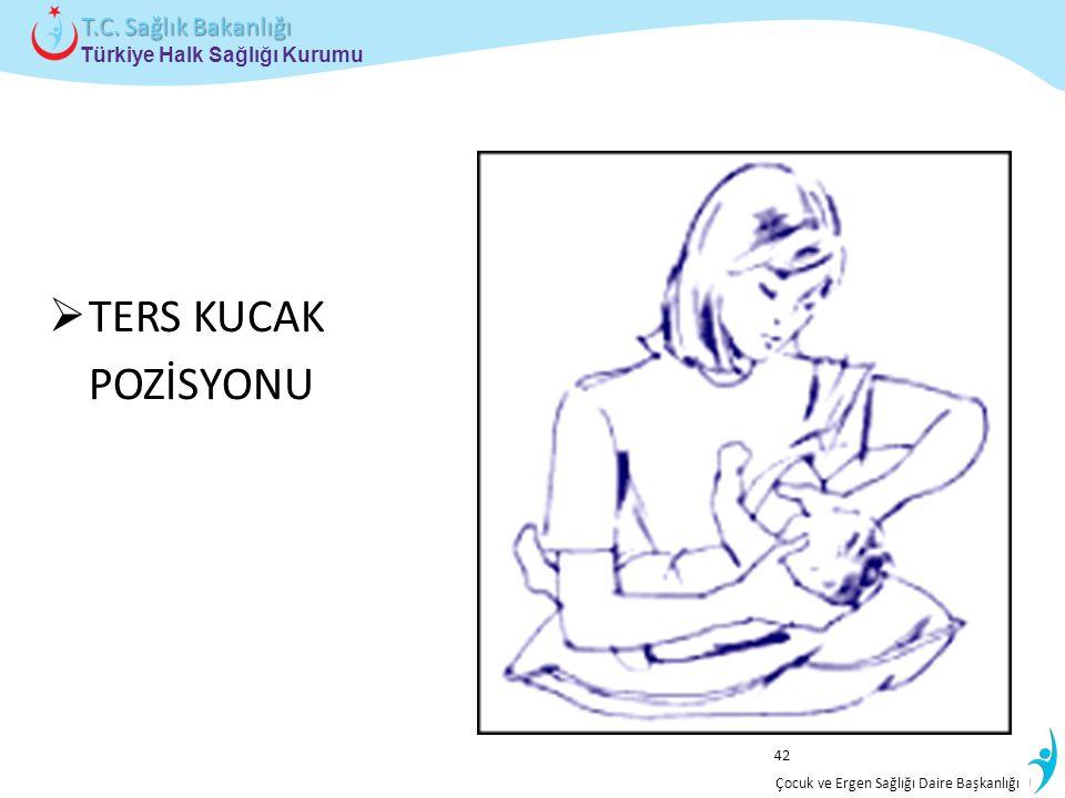 İstatistik ve Bilgi İşlem Daire Başkanlığı Türkiye Halk Sağlığı Kurumu T.C. Sağlık Bakanlığı Çocuk ve Ergen Sağlığı Daire Başkanlığı  TERS KUCAK POZİ