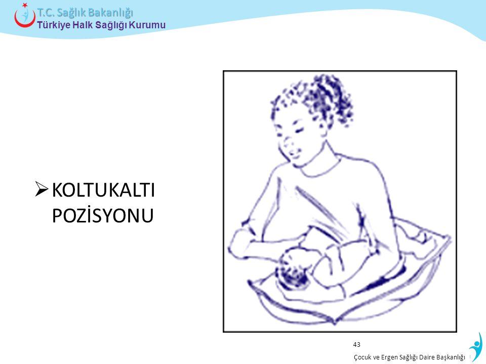 İstatistik ve Bilgi İşlem Daire Başkanlığı Türkiye Halk Sağlığı Kurumu T.C. Sağlık Bakanlığı Çocuk ve Ergen Sağlığı Daire Başkanlığı  KOLTUKALTI POZİ