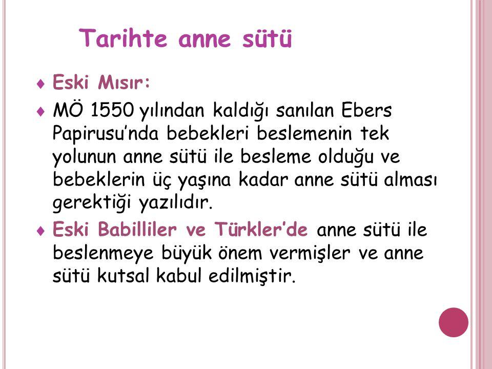 A NNE SÜTÜ ILE BESLENME Dr Meltem Uğraş