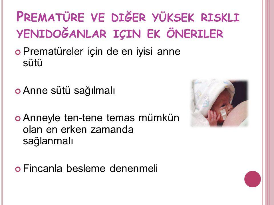 """S AĞLıKLı TERM BEBEK IÇIN ÖNERILER Bebek günde en az 8-12 kere emzirilmeli Anne bebekteki erken """"açlık"""" belirtilerine dikkat etmeli: ağlama geç belirt"""