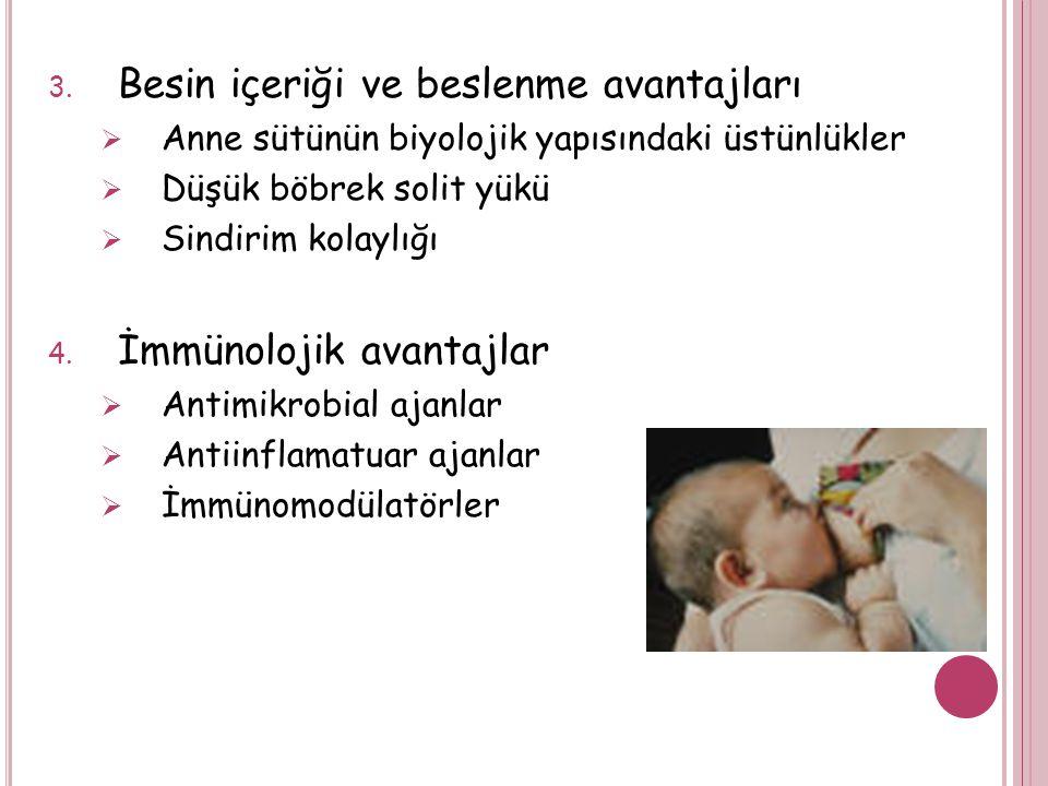 2. Anne sağlığı yönünden  Doğum sonrası kanama azalmaktadır (aneminin önlenmesi)  Kemik mineralizasyonunda gelişme (osteoporoz önlenmesi)  Kanserle