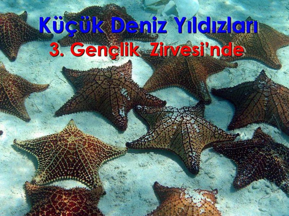 Küçük Deniz Yıldızları Küçük Deniz Yıldızları 3. Gençlik Zirvesi'nde