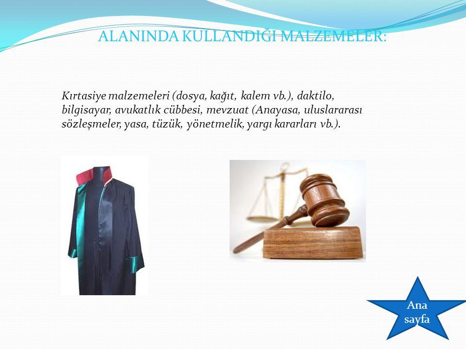 AVUKATIN GÖREVLERİ NELERDİR? - Bir kimsenin avukatlığını kabul etmeden önce davasını aldığı kişiyi (müvekkilini) dinler, yararlı olabileceğine inanırs