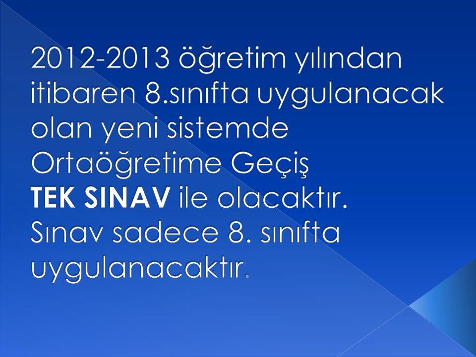 2013 SBS SİSTEMİ NELER GETİRİYOR.