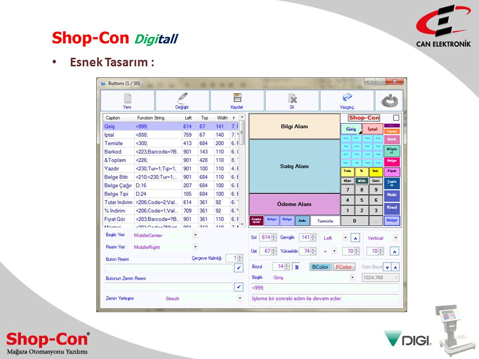 Shop-Con Digitall Esnek Tasarım :