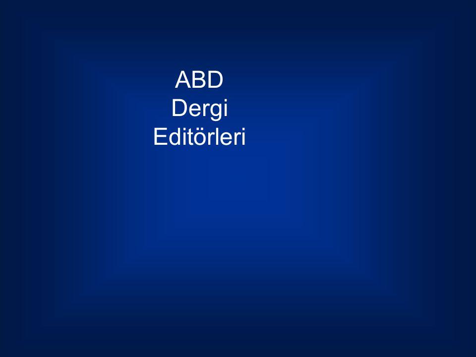 ABD Dergi Editörleri