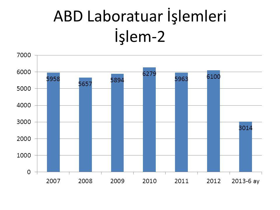 ABD Laboratuar İşlemleri İşlem-2