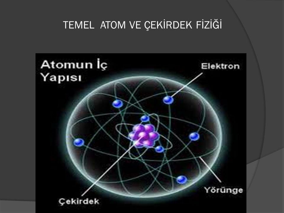  Çekirdek fiziği veya nükleer fizik fiziğin atomun çekirdeğini inceleyen dalıdır.