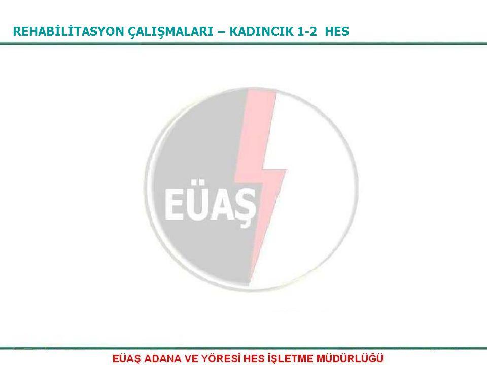 REHABİLİTASYON Seyhan 1 HES ünitelerine ait 9 adet 66 kV 600/5 ve 9 adet 66 kV 230/5 akım trafosu değiştirildi.