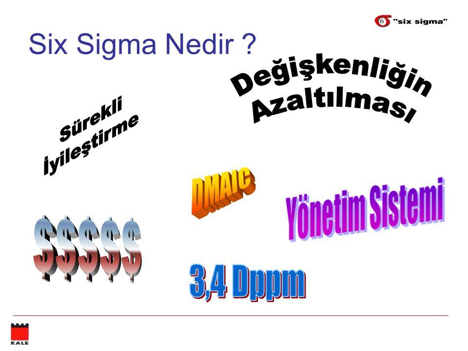 Six Sigma Nedir