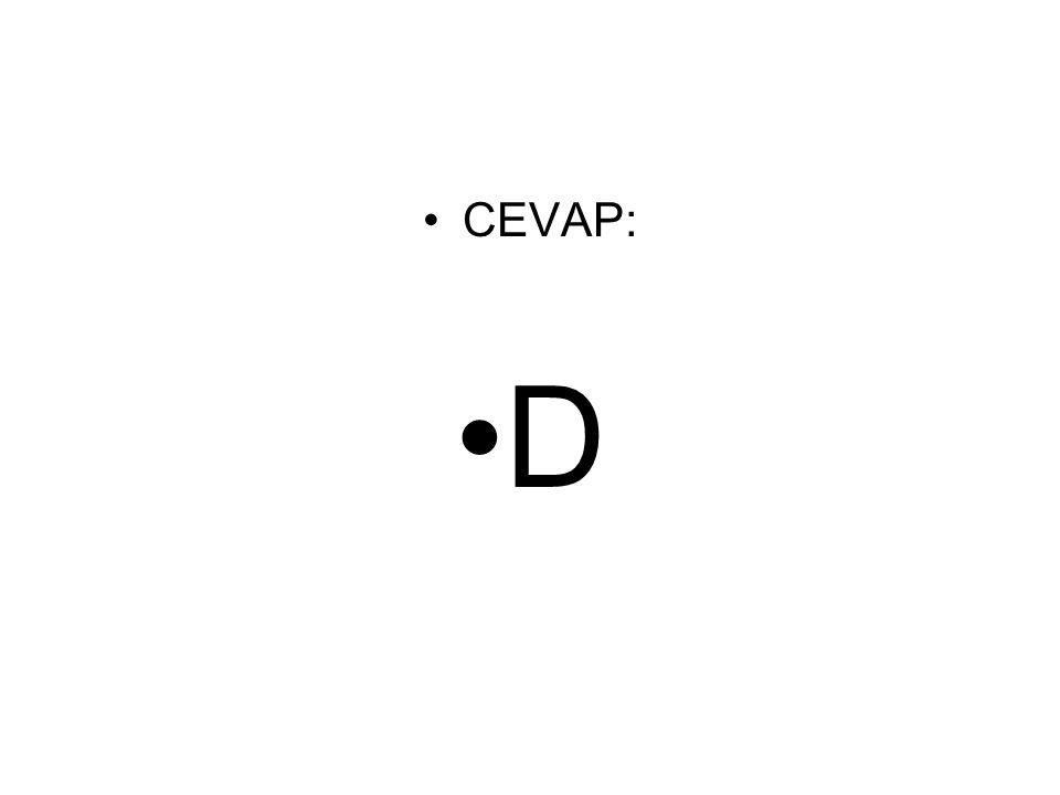 CEVAP: D