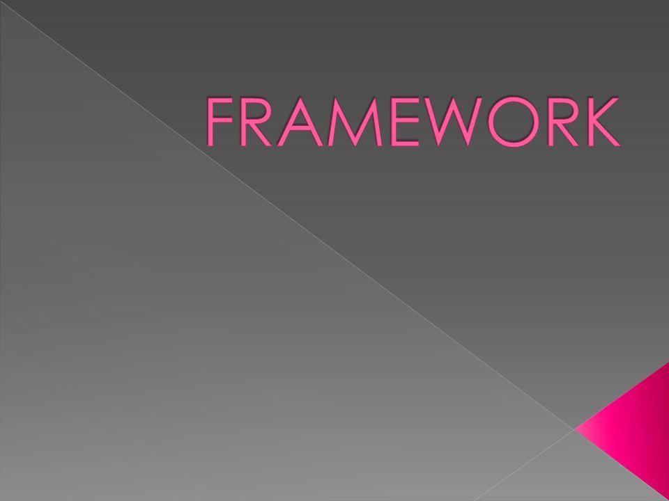  Yazılım geliştiriciler framework ün sunduğu kütüphaneyi kullanarak; Daha kısa zamanda daha fazla iş üretebiliyor, Daha düzenli bir yapı ortaya çıkarabiliyor, Çok daha kolay geliştirilebilir uygulamalar hazırlayabiliyorlar.