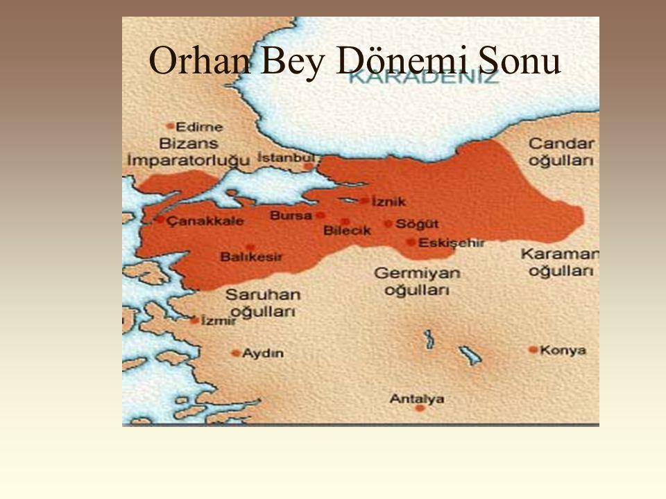 1302 yılında Bizans Koyunhisar'da bozguna uğratıldı. Osman Bey, Bursa kuşatması sırasında öldü. 1326 yılında Osman Bey'in yerine oğlu Orhan Bey geçti.