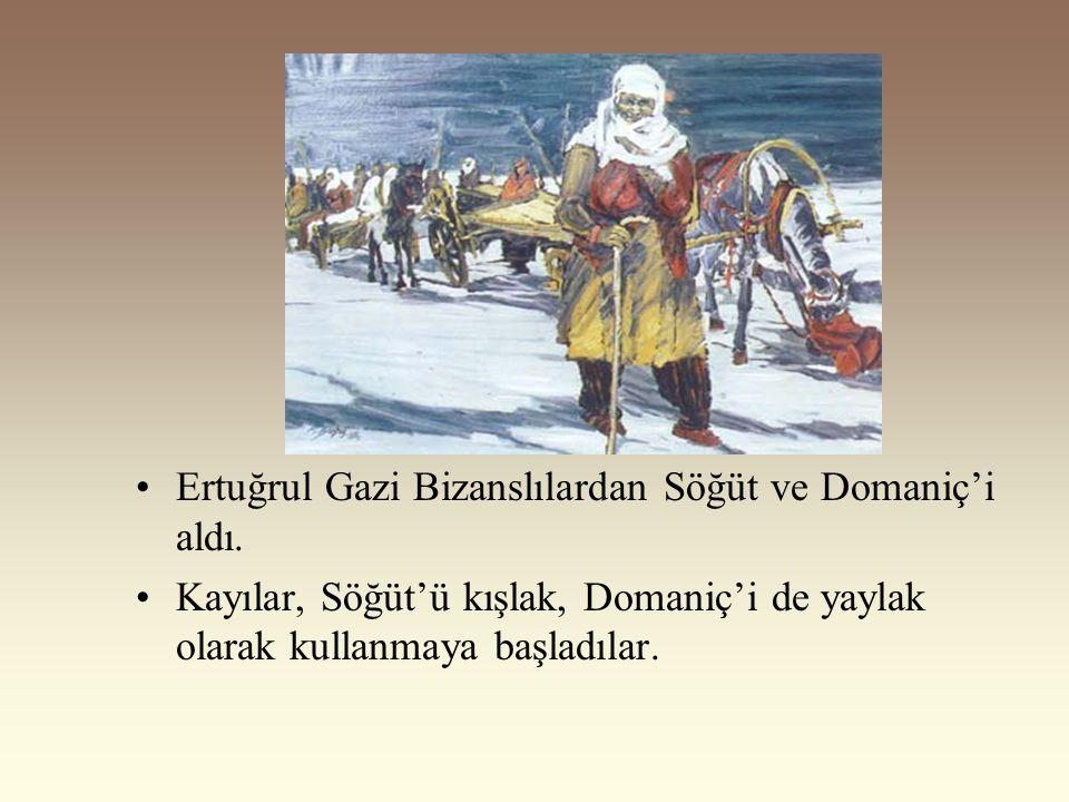 Kayı Boyunun Anadolu'ya Yerleşmesi Osmanlılar, Oğuzların Bozok kolunun Kayı boyundandır. I.Alaeddin Keykubat Kayıları Ankara'nın batısındaki Karacadağ
