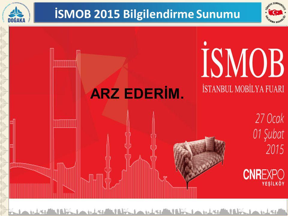 ARZ EDERİM. İSMOB 2015 Bilgilendirme Sunumu