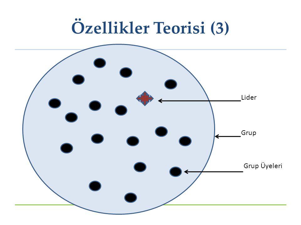 Lider Grup Grup Üyeleri Özellikler Teorisi (3)