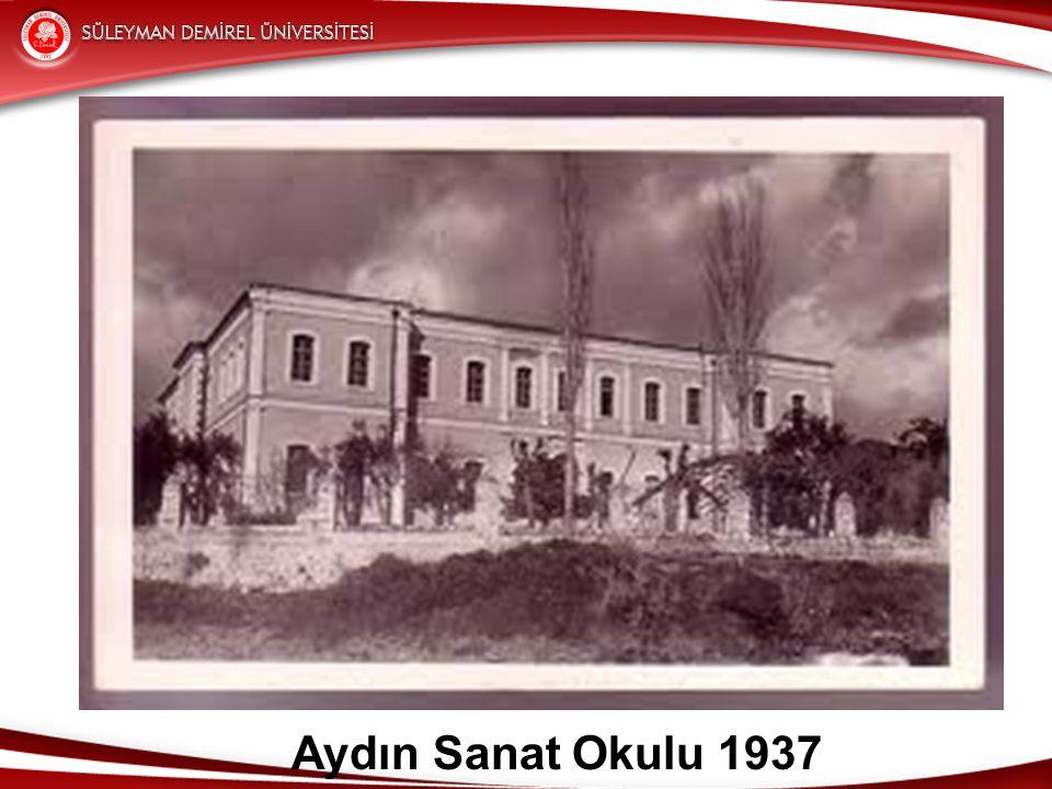 Aydın Sanat Okulu 1937