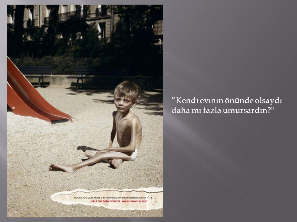 Çarpıcı resimlerle ticari olmayan reklamlar…