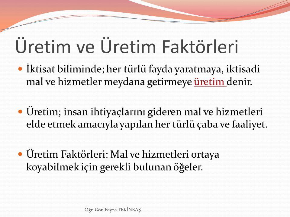 İŞLETMELERİN SINIFLANDIRILMASI 7.