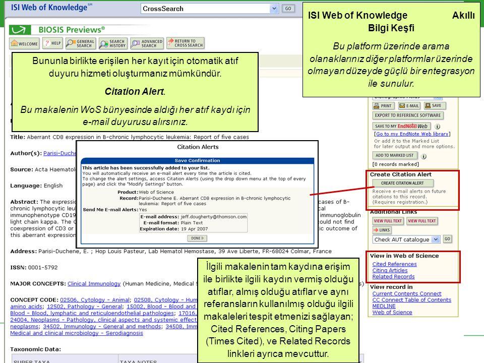 Arama kapsamınız ile ilgili diğer terimleri tespit ederek araştırmanızı genişletebilirsiniz.– Örneğin; B-CLL